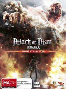 Attack On Titan Season 2 (DVD, 2016, 2-Disc Set)