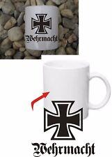 FORZE ARMATE TEDESCHE Croce di Ferro EK tazza Coffee Mug Iron Cross WH