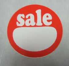 """120 Self-Adhesive Sale 1"""" Labels Stickers Retail Store Supplies"""