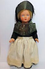 "Vintage Schildkrot Celluloid doll 9 1/2"" w/ Turtle Mark & Tag"