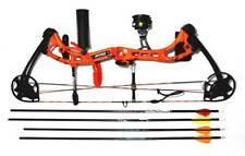 Apprentice III BEAR  OrangeComound Bow.RH with Arrow