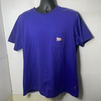 Uniqlo Men's Marvel Retro Gaming UT X-Men Pocket T Shirt Purple Size XL