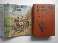 Forlorn River, Zane Grey, Harper & Brothers, DJ, 1st Edition, 1927