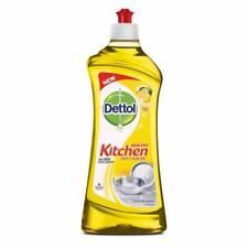 2 X Dettol Lemon Gel for Kitchen House Hold Cleaning 750 ML.Free Shipping.