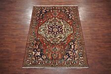 7X10 Persian Bakhtiari Antique Hand-Knotted Wool Area Rug Carpet (6.11 x 9.9)