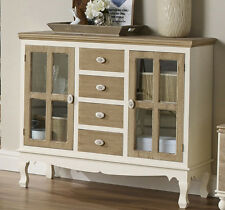 Antique French Display Cabinet Sideboard Furniture Shabby Chic Vintage Drawers