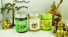 Thai Weiss Grün Balm Salbe Balsam Massage Hong Thai Inhalator Wellness Kräuter