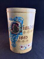 Vintage Caffarel Gianduiotti Classic Gianduia Chocolates Tin