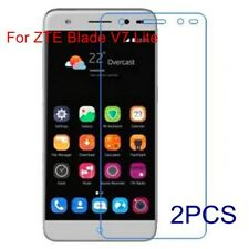 2x Slim Tempered Glass Screen Protector Premium Protection For ZTE Blade V7 Lite
