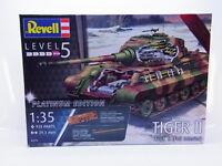 LOT 53446 Revell 03275 Tiger II Ausf. B Platinum Edition 1:35 Bausatz NEU OVP