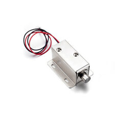 DC12V 0.8A 10mm Stroke Electronic Cabinet Lock Cabinet Door Electric