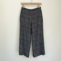 Saba Womens Pants, Size 8, Granite Patterned Culottes Spring Career