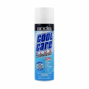 ANDIS Cool Care Plus | Spray For Clipper and Trimmer Blades | 5 in 1 Formula