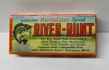 Vintage Heddon Spook River-Runt Fishing Lure 9330 XPS w/box