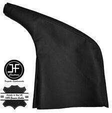 Cubierta De Cuero Negro Polaina de freno de mano se adapta a Renault Trafic MK2 2001-2014