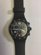 Reloj cronógrafo Swatch para hombre destino Shanghai YVB404 envío rápido!
