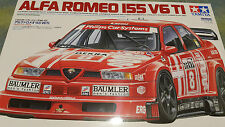 Tamiya 1/24 ALFA ROMEO 155 V6 TI Model Kit Voiture #24137