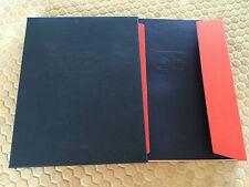 BUGATTI OFFICIAL VEYRON 16.4 PRESTIGE BOXED SALES BROCHURE 2006 FIRST EDITION