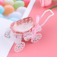 1Pc 1:12 Dollhouse Miniature Baby carriage Model Doll House Accessories toyYAN