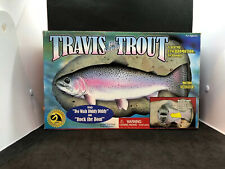 Travis the Singing Trout Motion Activated Fish Gemmy Rock the Boat Do Wah Diddy