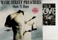 "MANIC STREET PREACHERS Slash N Burn  12"" Ps+Art Print, Orig 1992 Ltd Edition, 3"