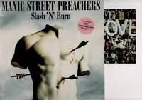 "MANIC STREET PREACHERS Slash N Burn 12"" VINYL + Art Print"