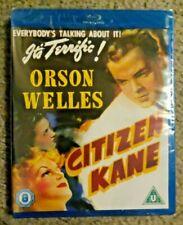 Citizen Kane (Warner Blu-ray, New) Orson Welles, 1941 Region Free