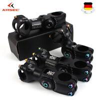 """KRSEC Verstellbarer Vorbau 25.4/31.8mm Aluminium 90/110mm MTB/Rennrad 1-1/8"""" DE"""