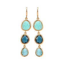 Trendy Dangle Long Earrings Beautiful Crystal Stone Hook Drop Earrings Boutique