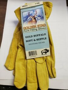Golden Stag Gold Buffalo Small
