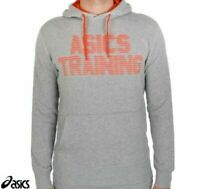 ASICS Running Training Hoodie Grey New Fast Shipping