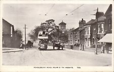 Irlam O'Th'Heights near Salford. Pendlebury Road # 703. Tram.