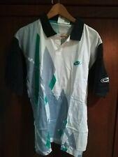 VINTAGE Nuova Con Etichetta Nike Polo Sampras Agassi etichetta ALFA progetto Medium