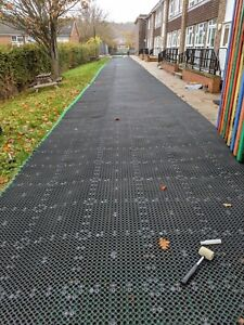 Car Parking, Driveway & Playground Ground Reinforcement Grass Protection Mats