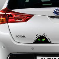 New Evil Monster Peeking Car Funny Joke Novelty Sticker Vinyl Decal Gift Xmas