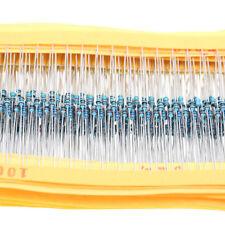 2425pcs Metal Film Resistor 1% 1/8W 0.125W Resistor Assortment Kit Assorted Kit
