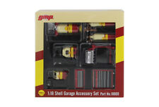 GMP Shell Oil Garage shop Tool set for 1:18 scale models-6 piece set+Bonus check