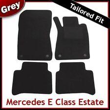 Tailored Carpet Floor Mats for MERCEDES E-Class Estate 2002-2009 GREY