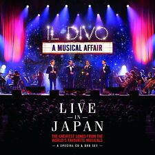 Il Divo - A Musical Affair: Live In Japan (2014 Release) (NEW CD & DVD)