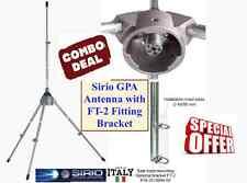 Sirio GPA 27-45 Mhz ground plane base antenna - 3000 Watts with Fitting Bracket