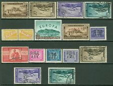 Italy & Area : Nice group of all different Mint & Used Better items.