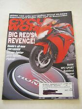 April 2008 Cycle World Magazine, Big Red's Revenge <VF> (BD-2)