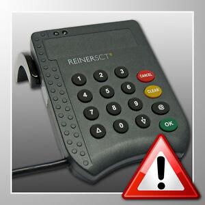 REINER SCT cyberJack® pinpad ~ TOP ~ HBCI-Chipkartenleser ~ Sicherheitsklasse 2
