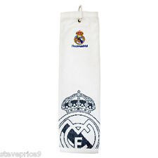 Real Madrid Fc Golf accessoires, tri fold serviette. Bnwt