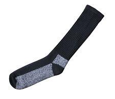 Merino Wool Chukka Boot Sock - Black Or Desert Sand - Wicks Away Moisture