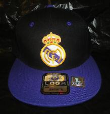 Real Madrid Two Tone Cap Hat Soccer Football Flat Bill snap back adjustable NEW