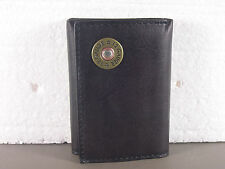 12 Gauge Brown Western Trifold Billfold Wallet Tri-fold