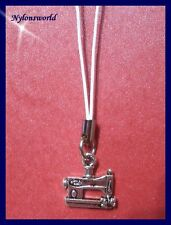 NÄHMASCHINE Handyanhänger Schlüsselanhänger Taschenanhänger NEU      (c116)