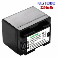 Kastar BP-727 Battery for Canon VIXIA HF R60 R62 R300 R400 R500 R600 M50 M52