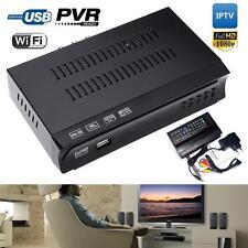 HD DVB S2 M5 Digital Satellite IPTV Combo Receiver Decoder Set Top Box PVR FT